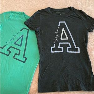 Set of Two Aeropostale tees